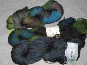 3 Sock Yarns
